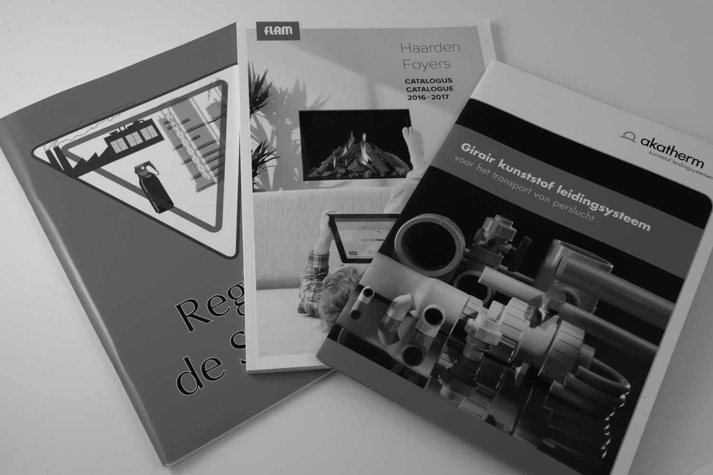 Kontinu Catalogi en Brochures